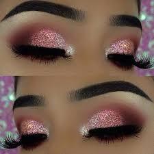 pink glitter makeup saubhaya makeup