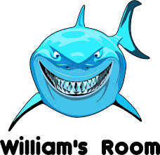 Amazon Com Jaws Shark Sharks Personalized Names Custom Name Tv Show Movie Movies Shows Vinyl Wall Decals Decal Stickers For Kids Bedroom Kid Rooms Children Decor Size 20x20 Inch Home Kitchen
