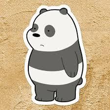 We Bare Bears Panda Cub Cute Adorable Car Window Wall Die Cut Decal Sticker Ebay