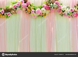 romance wide scene wedding background