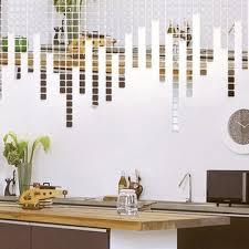 Shop 3d Wall Sticker Mosaic Mirror Living Room Art Decals 5cmx5cm 50 Pcs White Overstock 18325295