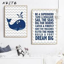 Best Whale Nursery Wall Art Products On Wanelo