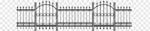 Fence Gate Einfriedung Balaustrada Fence Png Pngbarn