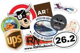 Custom Vinyl Silkscreen Printed Stickers