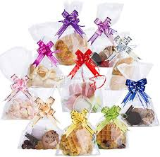 2020 clear cellophane treat bags 6 x 10