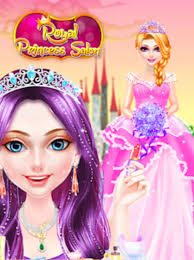 royal princess makeup salon dress up