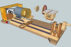 build diy how to make wood lathe