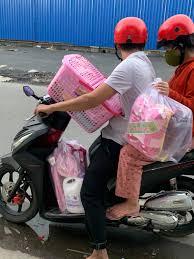 Combo đi sinh bé gái cho vợ ❤️chồng em... - Hallo Shop Sơ Sinh Mẹ và Bé Tp Tây  Ninh