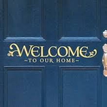 Welcome 04 Wall Decal Decalmywall Com