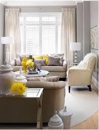 cream furniture grey walls