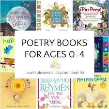 poetry books to read to es and toddlers