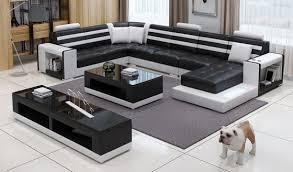 modern furniture big siz u shape