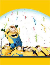 Los Minions Estan De Fiesta Minions Cumpleanos Feliz Cumpleanos