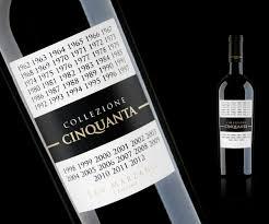 Giá sale: 0đ - Rượu vang Collezione Cinquanta - Vang 50 năm