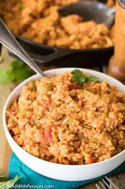 spanish rice spend with pennies