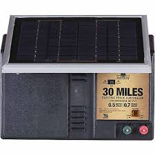 American Farmworks 30 Mile Solar Powered Low Impedance Charger Esp30m Afw At Tractor Supply Co