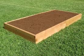 4x8 cedar raised garden bed tool free
