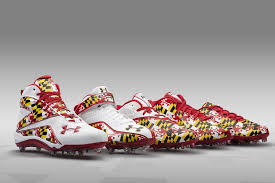 Under Armour University of Maryland Pride Uniforms & Cleats | Soccer shoes,  Football uniforms, Under armour football