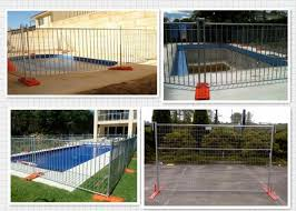 Australian Temporary Security Fencing Hire 5 0mm Dia For Swimming Pool