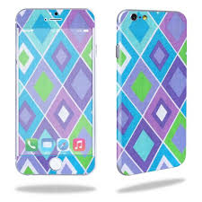 Mightyskins Protective Vinyl Skin Decal Cover For Apple Iphone 6 6s Cell Phone 4 7 Cover Wrap Sticker Skins Pastel Argyle Walmart Com Walmart Com