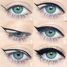 best makeup looks for blue eyes and