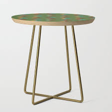 boho camping tents side table by