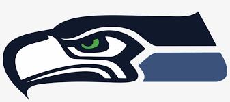 Seahawks Logo Head Window Wall Sticker Car Decal Vinyl Seahawks Logo Facing Left Free Transparent Png Download Pngkey