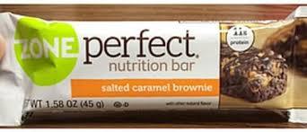 salted caramel brownie nutrition bar