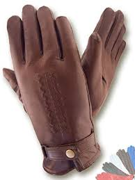 mens fur lined leather gloves