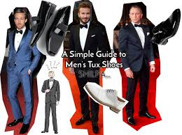 a simple guide to pairing shoes with a tux
