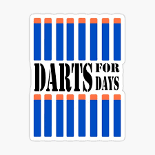 Nerf Stickers Redbubble