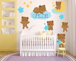 Teddy Bear Wall Stickers Paddington For Nursery Art 3d Mimi Archie Vamosrayos
