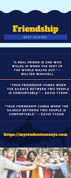 best speeches on friendship for students