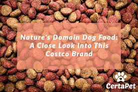 nature s domain dog food a close look