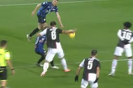 Moviola Atalanta-Juventus: mano di Cuadrado, perché il Var non ...