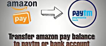 amazon pay balance to bank account