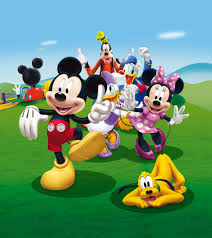 l photo wallpaper mural disney mickey
