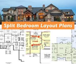 split bedroom layout why you should