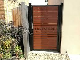 Side Gates Melbourne Single Gate Designs Fences