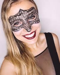 masquerade mask makeup