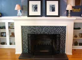 tile fireplace makeover ideas