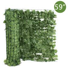 Colourtree 2 X 14 Artificial Hedges Faux Ivy Leaves Fence Privacy Screen Cover For Sale Online Ebay