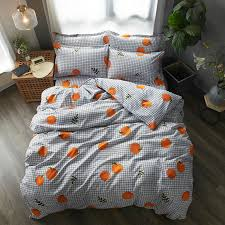 fruit bedding set soft quilt cover