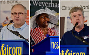 Candidates for State Treasurer speak at Neshoba County Fair ...