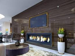 tv unit with fireplace cabinet above