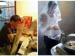 الرجال في المطبخ صور مضحكة لرجال قرروا دخول المطبخ كلمة دوت أورج