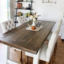 30 easy diy dining tables you can build