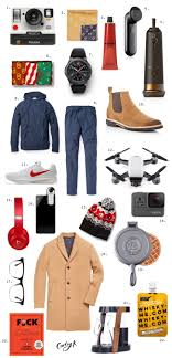 2017 gift guides gifts for the guys