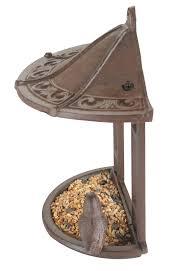 Cast Iron Wall Bird Feeder 12 99