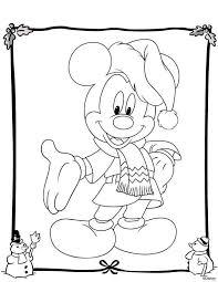 Kleurplaat Kerstmis Disney Kerstmis Disney Kerstmis Kleuren